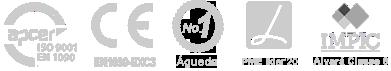 Empresa certificada ISO9001 e EN1090 com marcação CE e classe de execução EXC3
